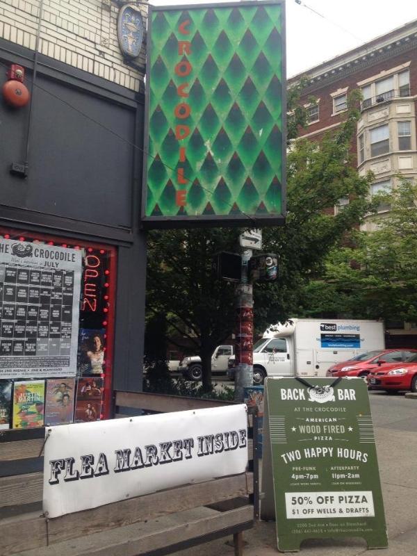 Back Bar Flea Market at The Crocodile Seattle