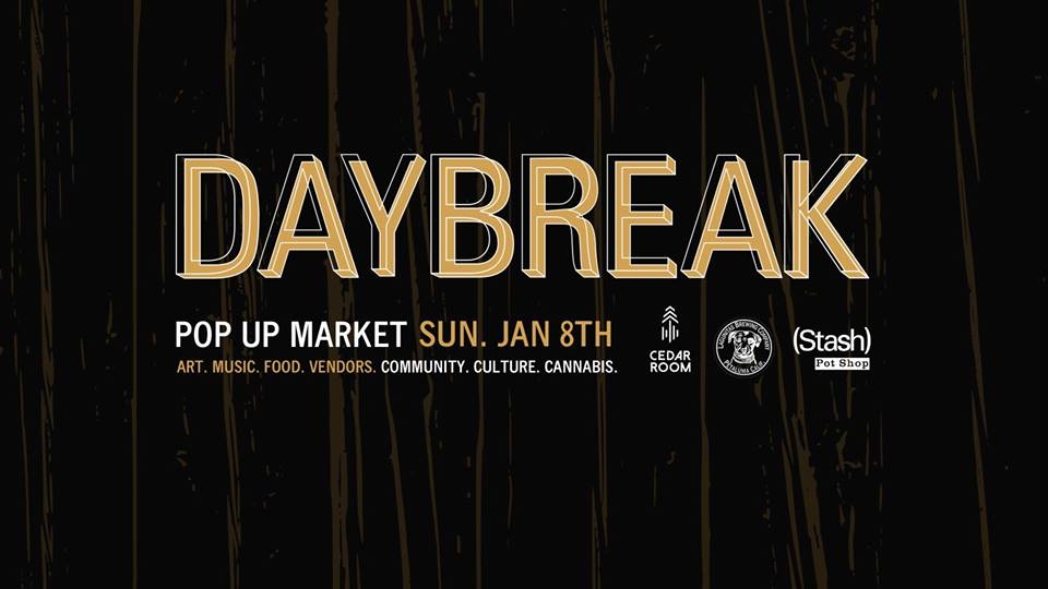 daybreak pop up market