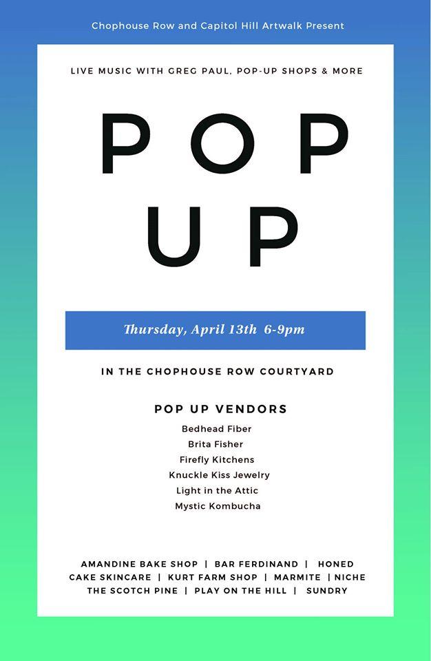 pop up at chophouse row