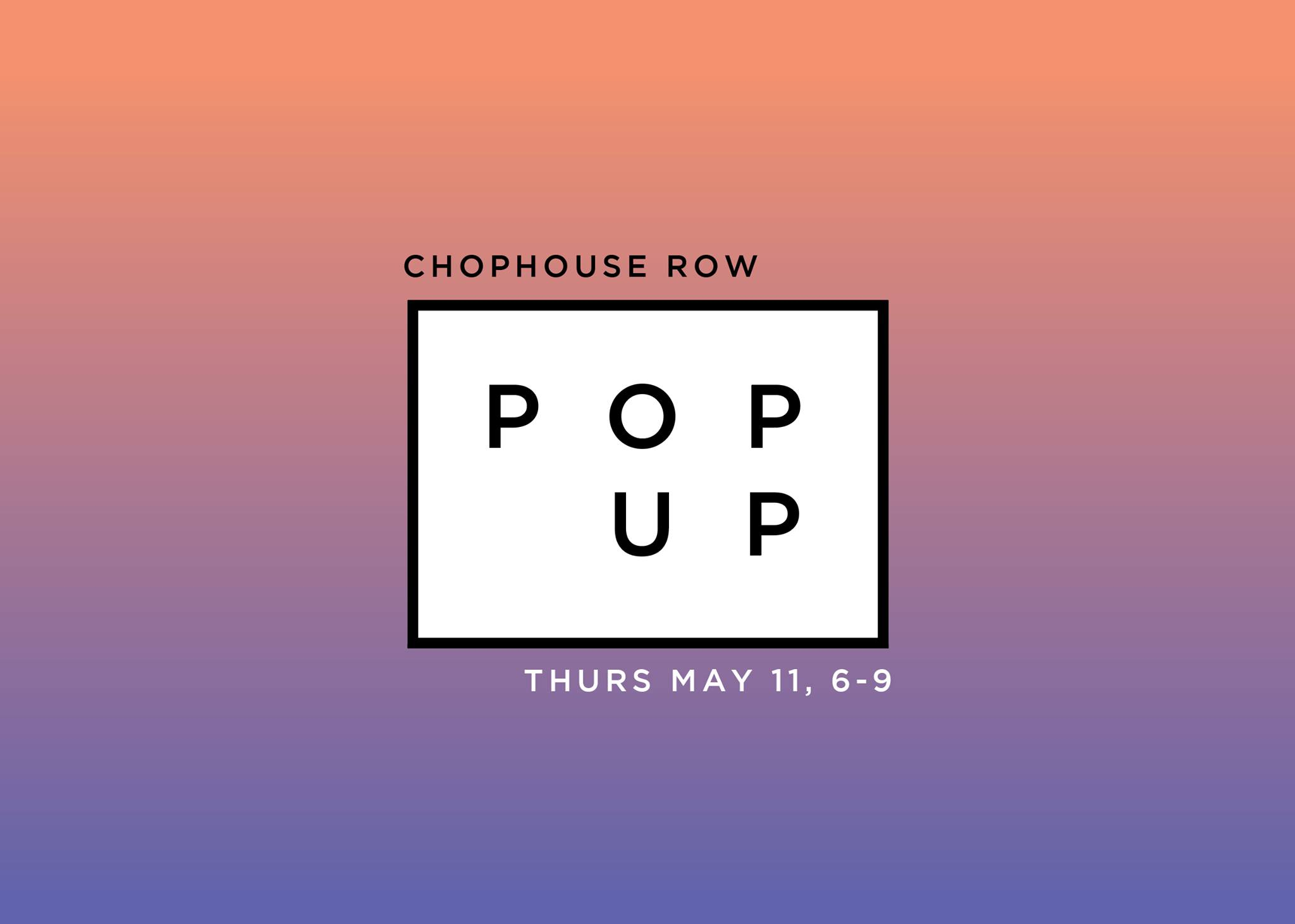chophouse row pop up marketplace