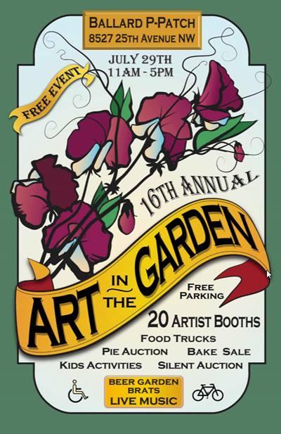art in the garden ballard