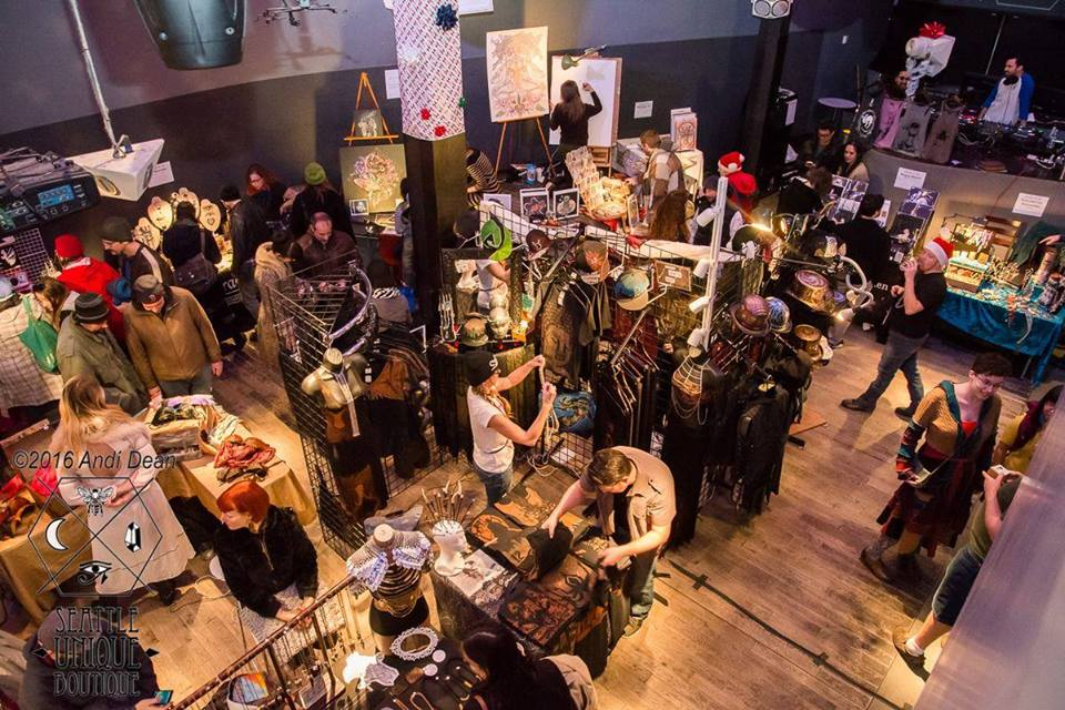 Seattle Unique Boutique Holiday Extravaganza