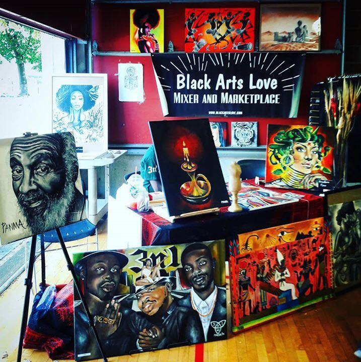 Black Arts Love Holiday '17 Mixer and Marketplace