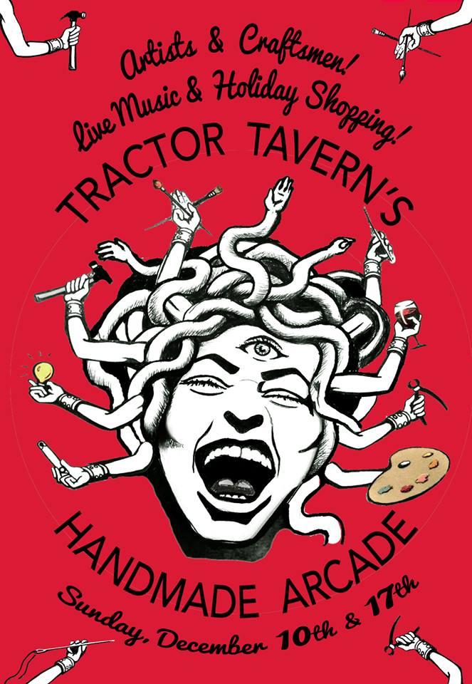 Tractor Tavern's Handmade Arcade