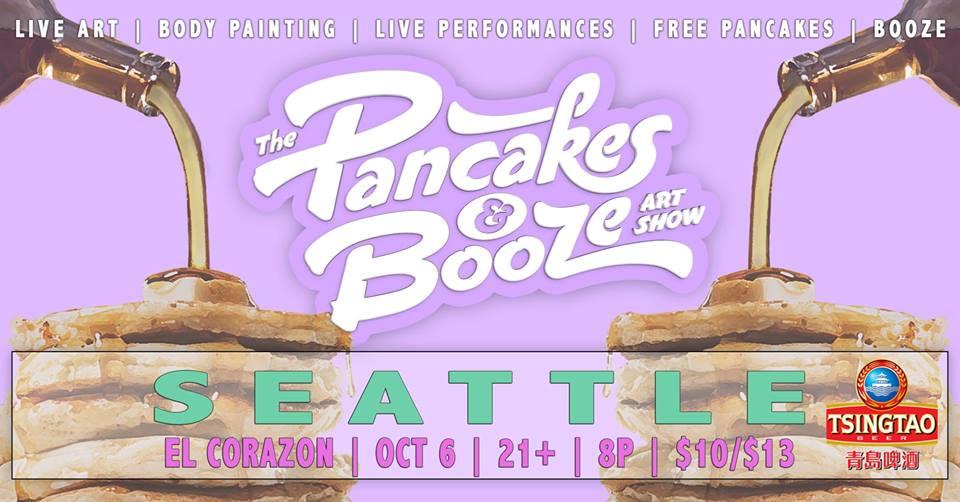 The Seattle Pancakes & Booze Art Show