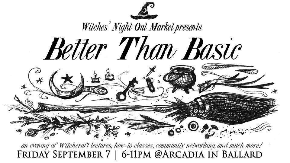 Witches' Night Out Market presents Better Than Basic