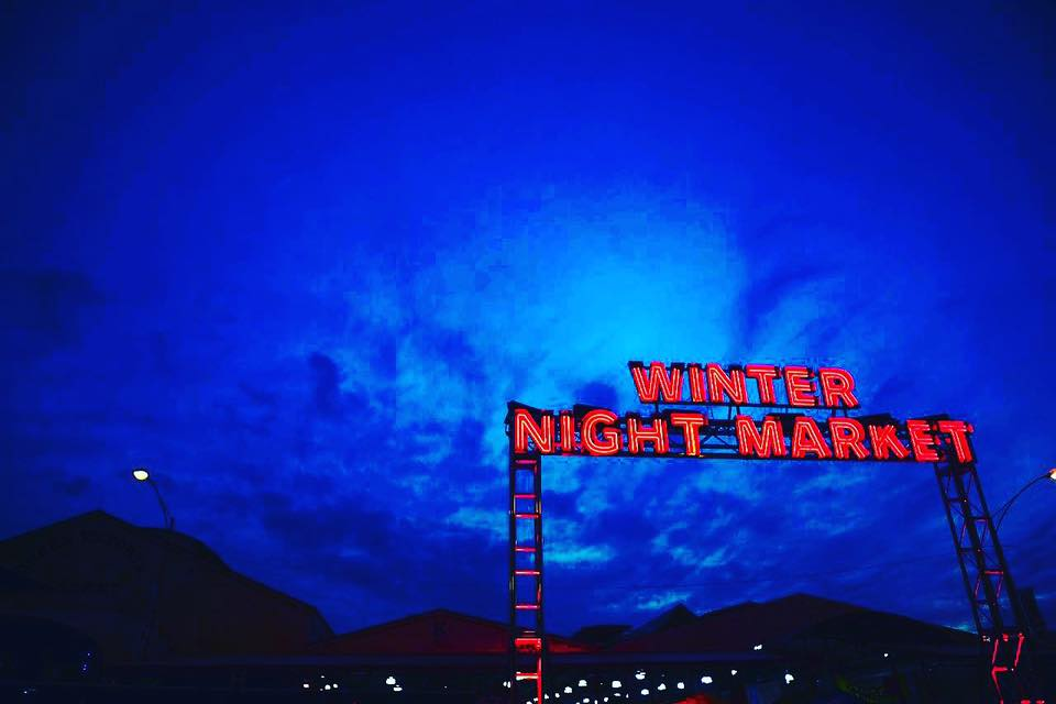 Magnuson Winter Night Market