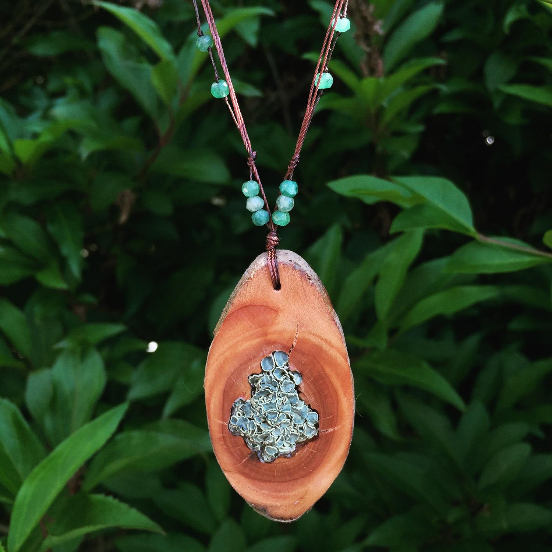 Lichenology Seattle Handmade jewelry