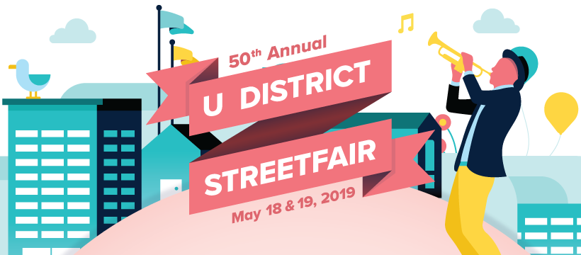 U District street fair 2019