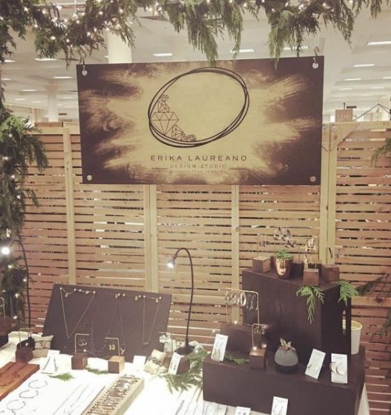Erika Laureano Design booth set up