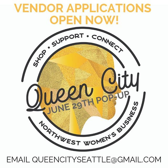 Call for vendors! Applications are open for @queencityseattle Summer Pop Up Saturday June 29th 3-7pm Shop local, women-owned business! ✨✨✨ Email queencityseattle@gmail.com for application info. . . . #seattle #shoplocal #shopsmallseattle #pnw #womeninbusiness #bossbabe #girlboss #supportlocal #queencity #popupshop #popupmarket #shopping #handsandhustle #handmade #handcrafted #madeinseattle #handmadejewelry #shopsmallseattle #pnw #queencityseattle #womenownedbusiness #seattleevents #seattleliving #supportseattlebusinesses #centraldistrictseattle #seattleart