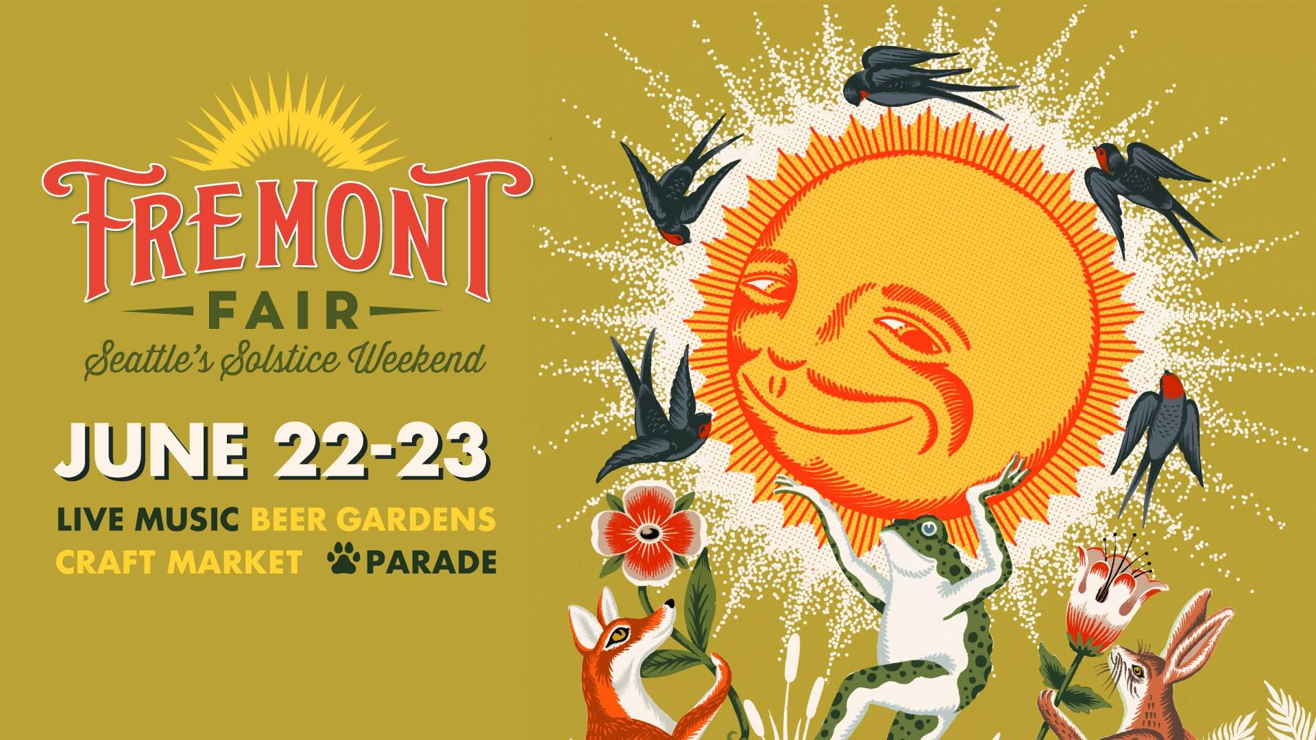 Fremont Fair Seattle's Solstice Weekend