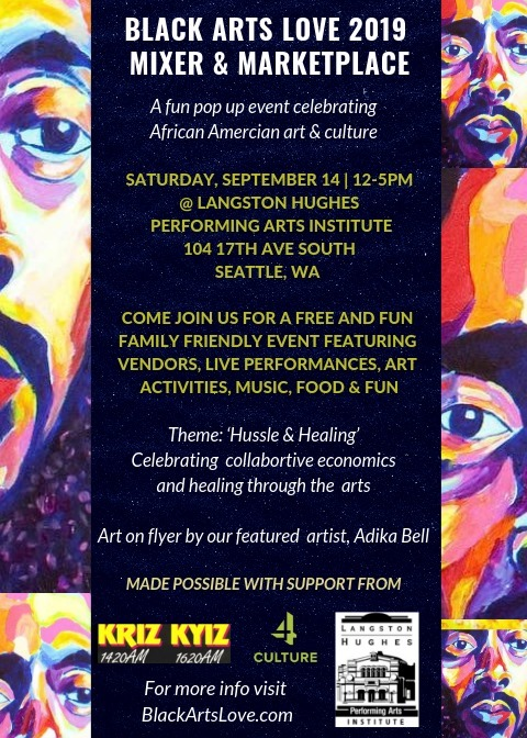Black Arts Love 2019 Mixer & Marketplace