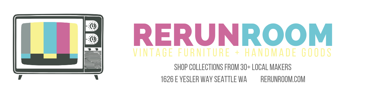 rerunroom vintage furniture seattle
