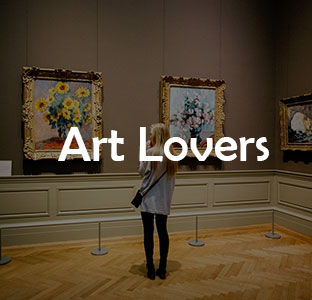 Individuals who appreciate art, beauty, culture, and music.