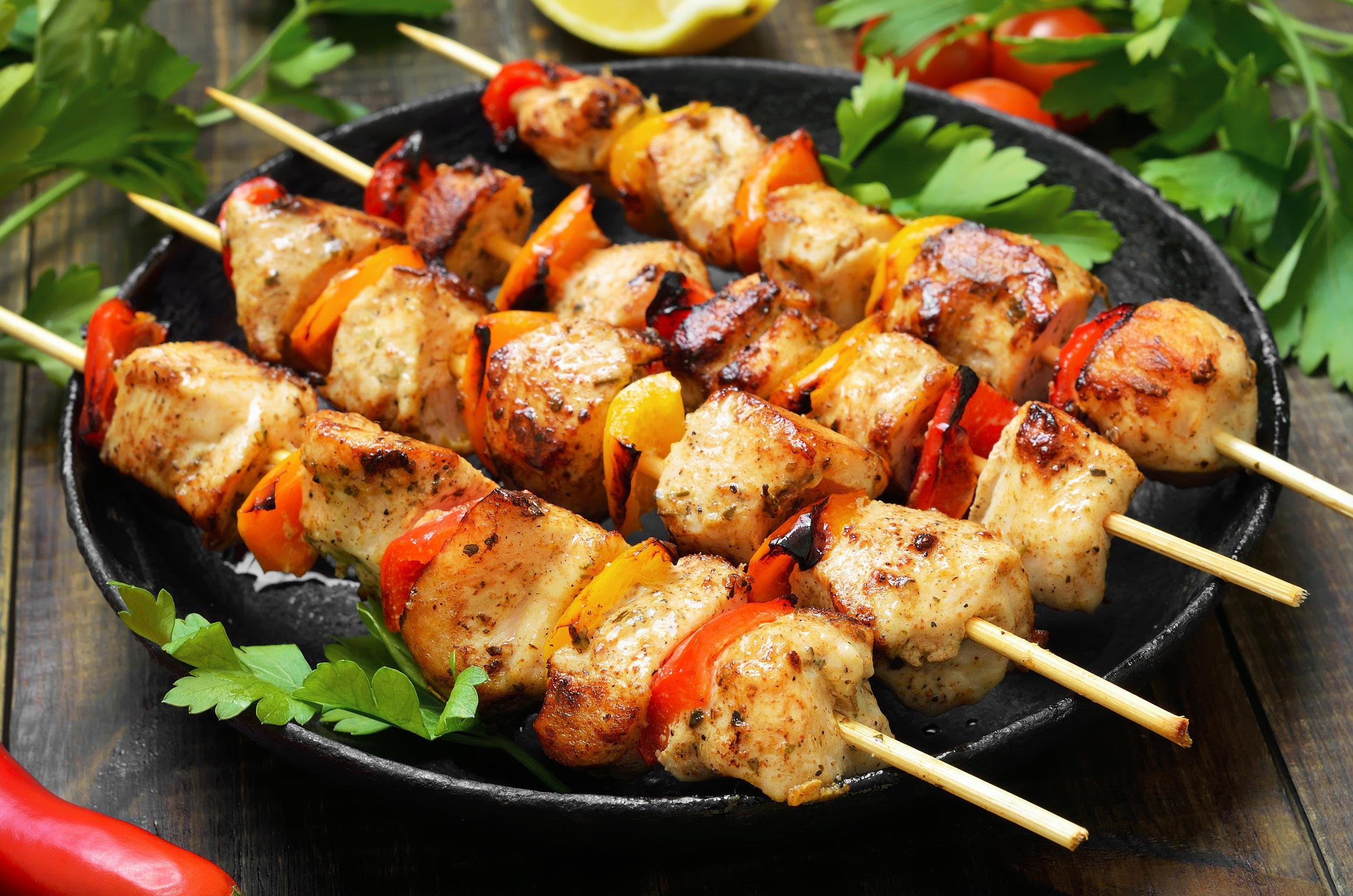 Kebabs! - Spicy Mustard Chicken Kebab
