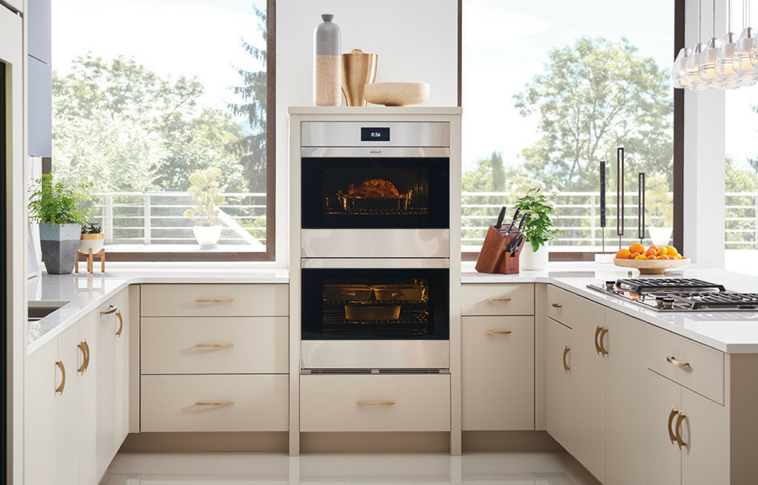 Stunning appliances by  Wolf