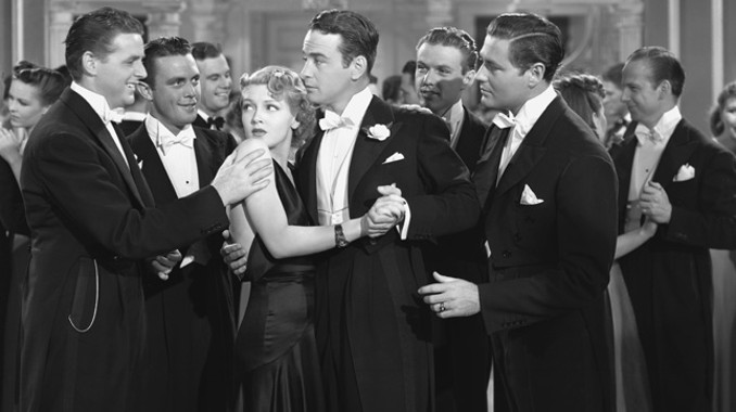 "Lew Ayres tells the boys there's ""no cutting after midnight,"" which is NOT Perfectly Proper."