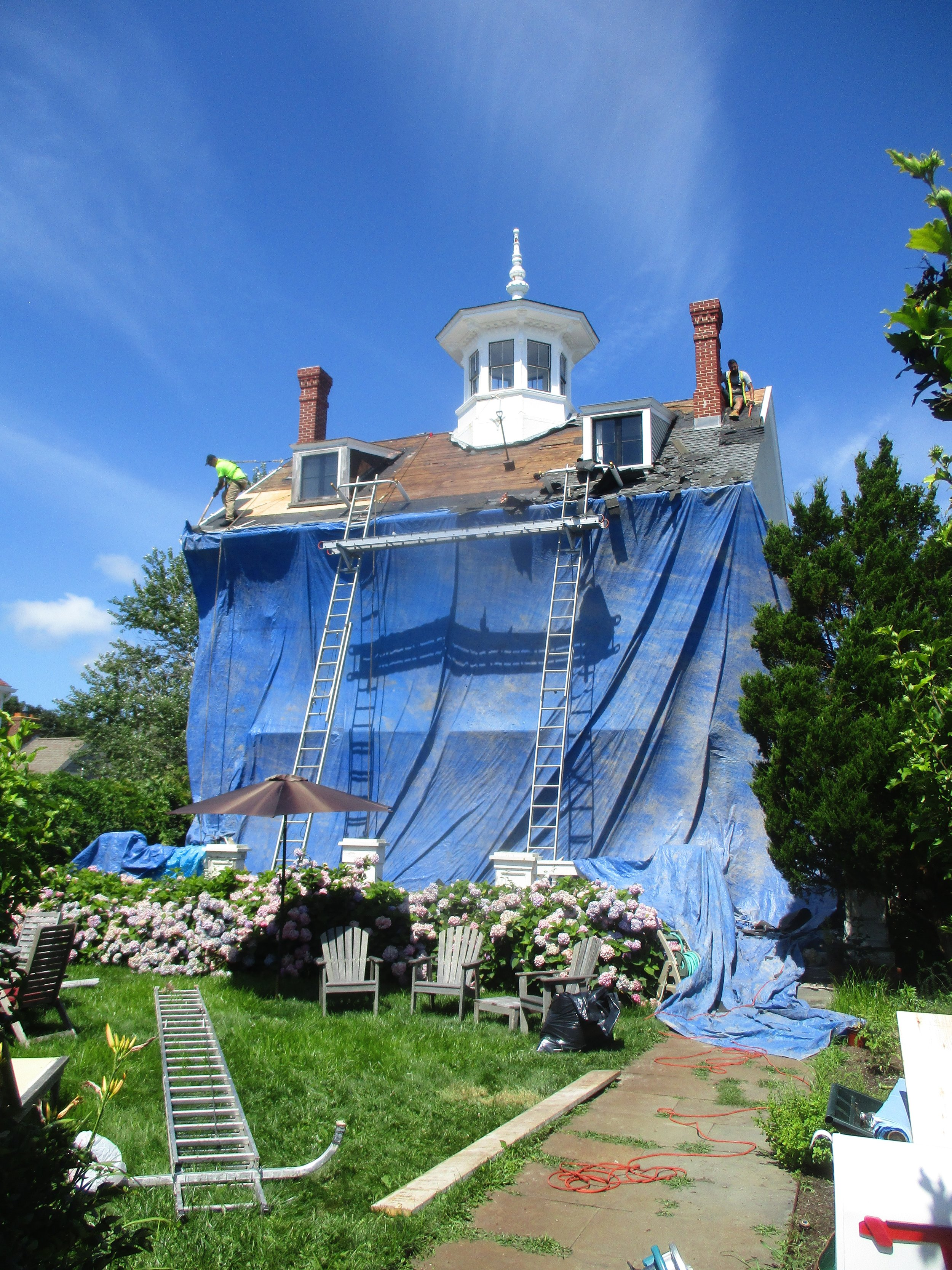 The most mysterious house in Provincetown is getting a new roof!