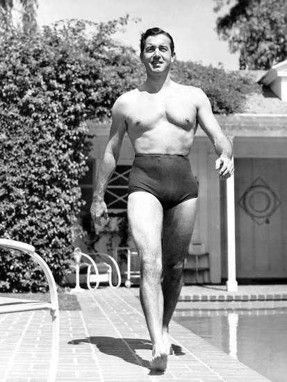 Time for the high-waisted swim brief to make a comeback!
