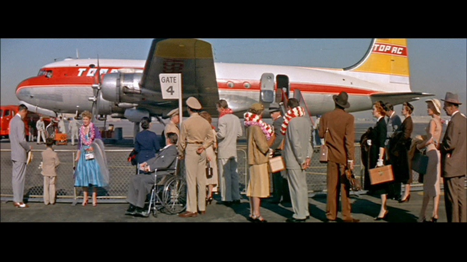 The High and the Mighty, 1954, grandfather of all airplane disaster movies.