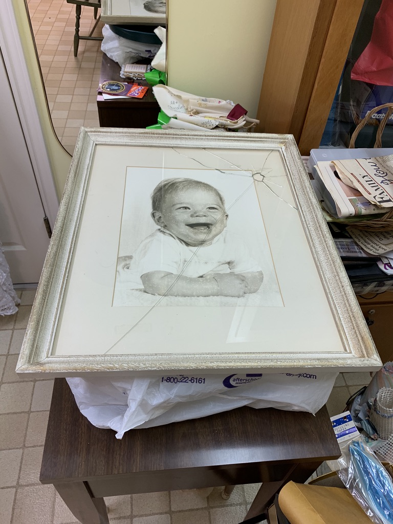 """Could this be """"The Baby Picture of Dorian Gray""""? :-)"""
