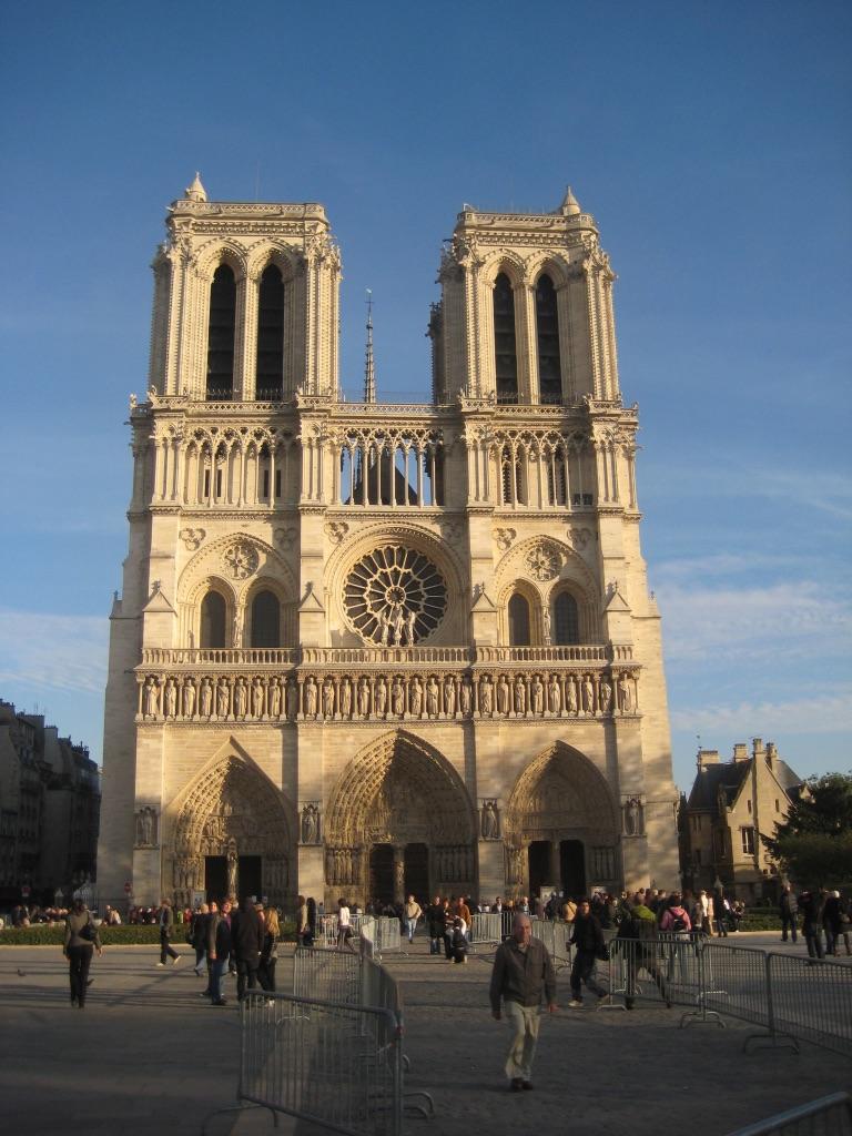 Notre Dame de Paris, October, 2008.