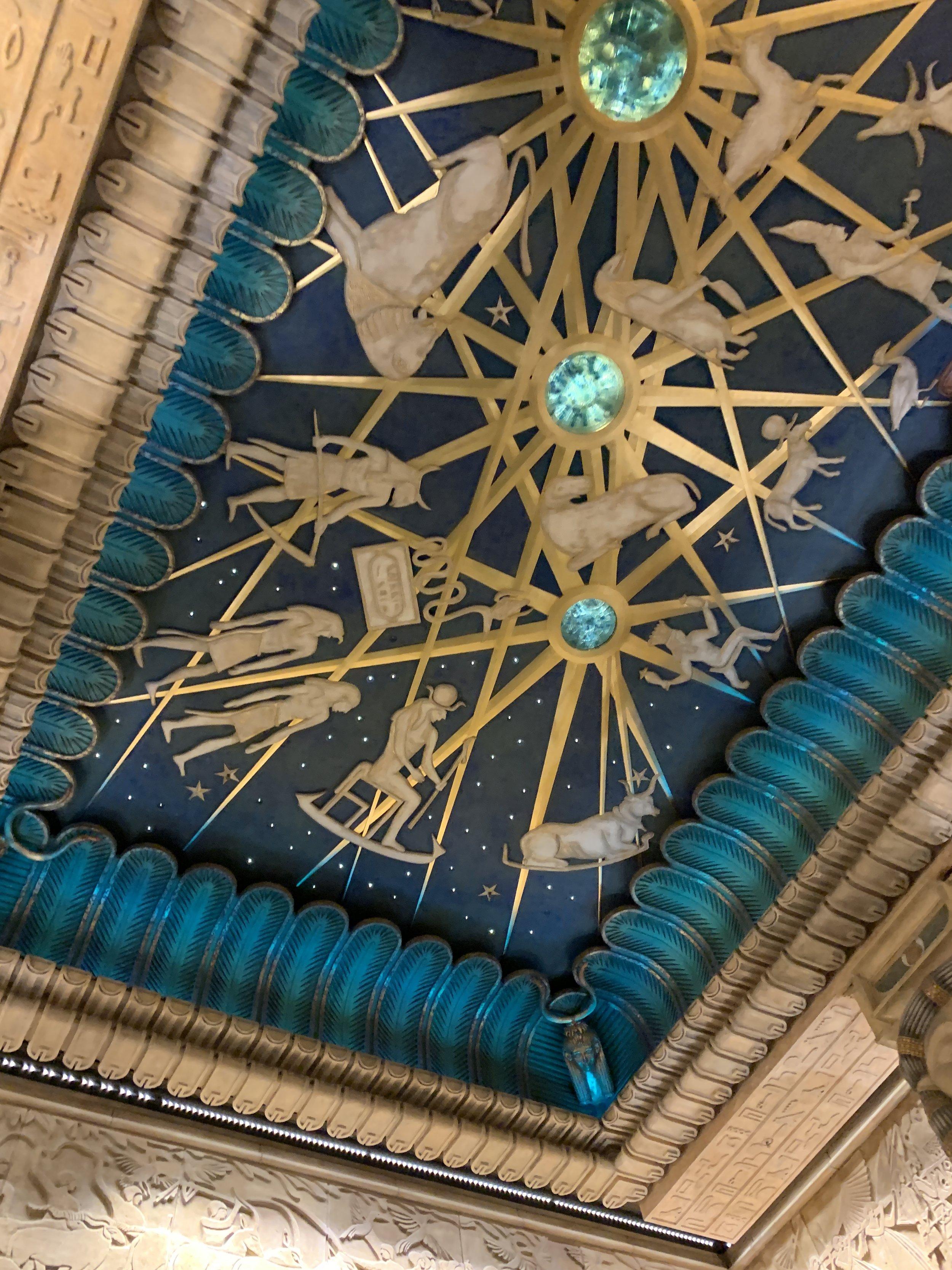 A Harrod's ceiling.