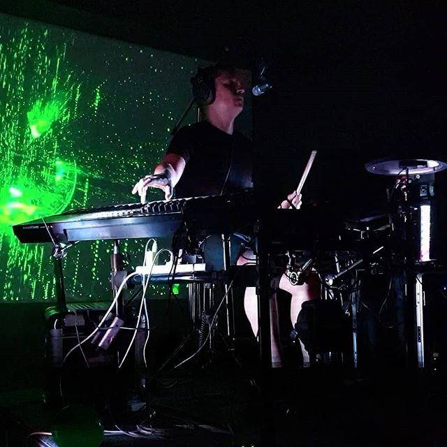 Cheers to everyone that came out to the first #Clubconspiracy. Good to meet some familiar faces for the first time. Im heading back into the lab for a while to work on some cool new stuff. #onemanmachine  #liveelectronicmusic #brisbanemusic #brisbanemusicscene #synthwave #electroindustrial #hybriddrumkit #keysanddrums #keysanddrumsatthesametime #future #futurist #musictech