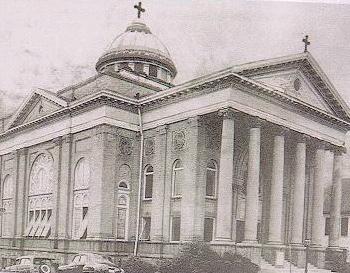 Greek Orthodox Church at Pryor Street 1928-1970