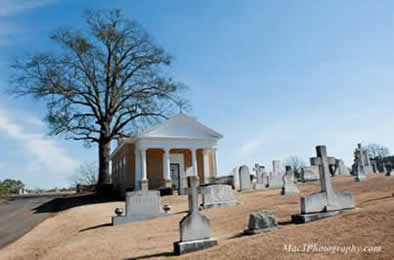 Greenwood Cemetery St. Barbara's Chapel