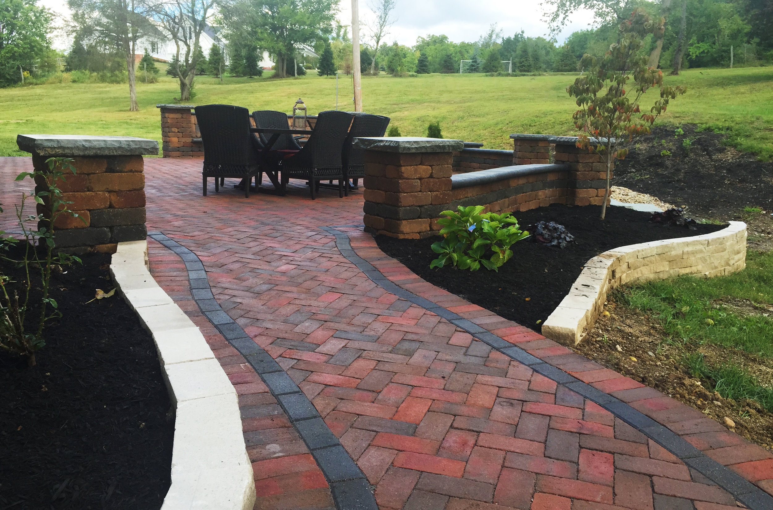Paver Stone Walk Paths — Vaughanscapes