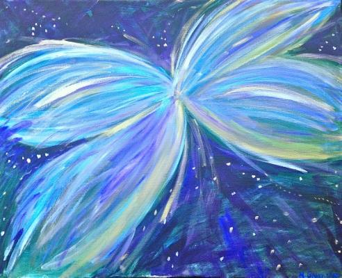 Hubble Fly , Acrylic