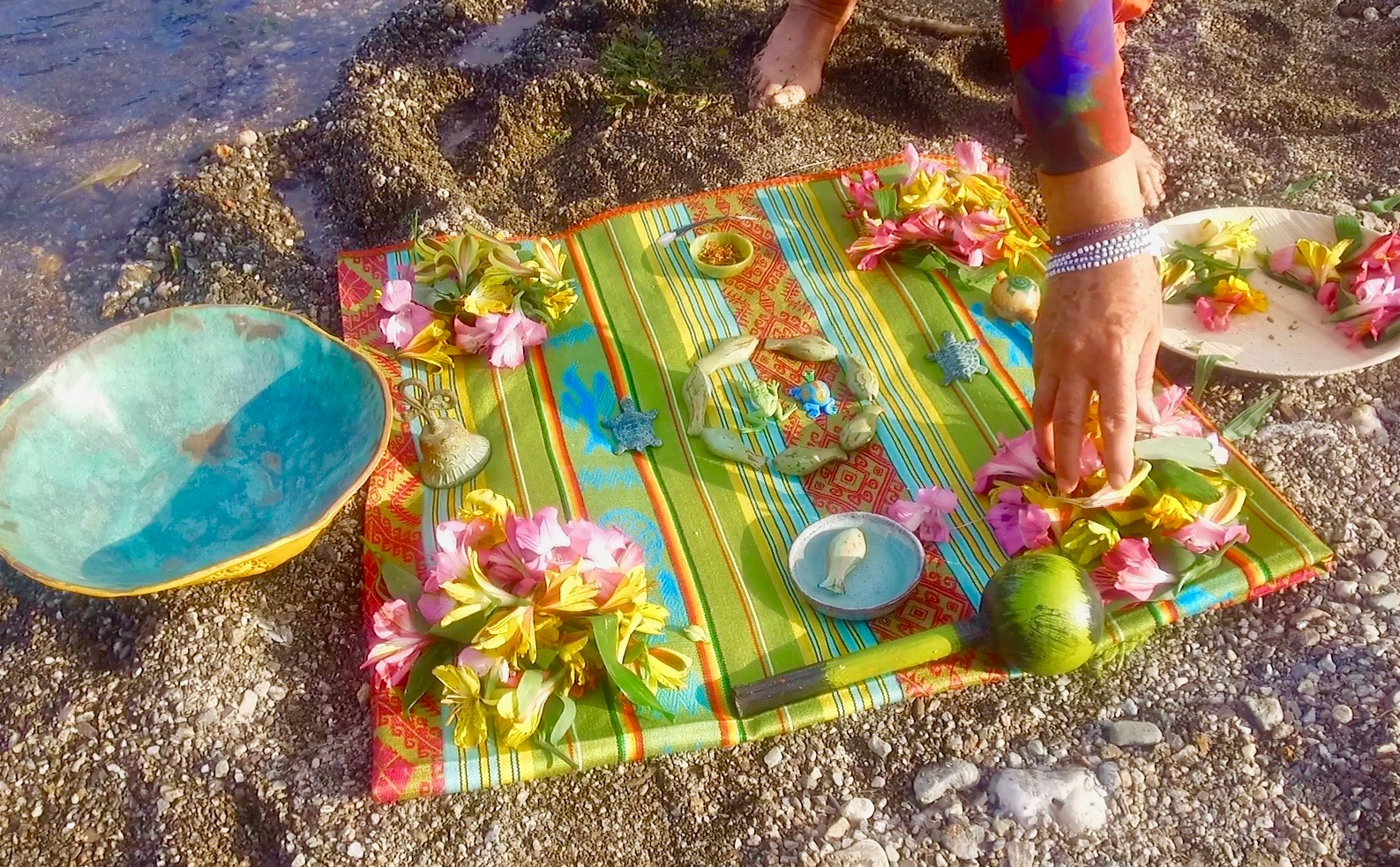 placing flowers on altar.jpg