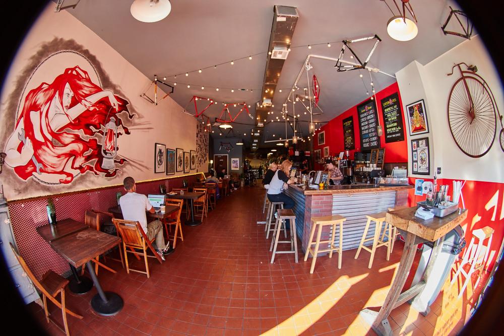 Red Lantern Bike Shop 12:30 pm