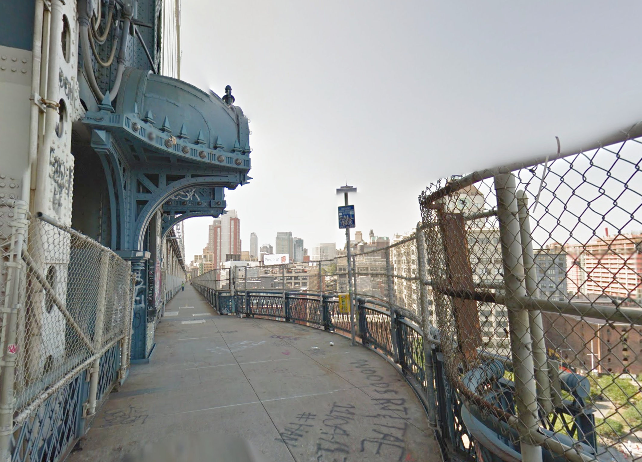 8. Manhattan Bridge (11:30 pm)