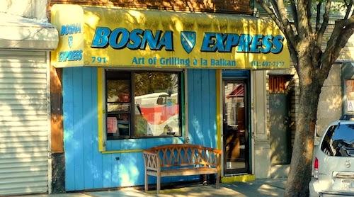 3. Bosna Express (3 pm)