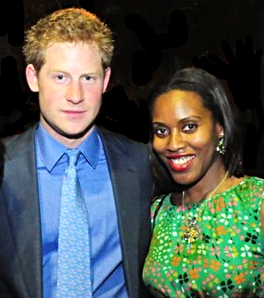 HRH Prince Harry and Susan Bender at The GREAT campaign launch in Rio de Janeiro, Brazil
