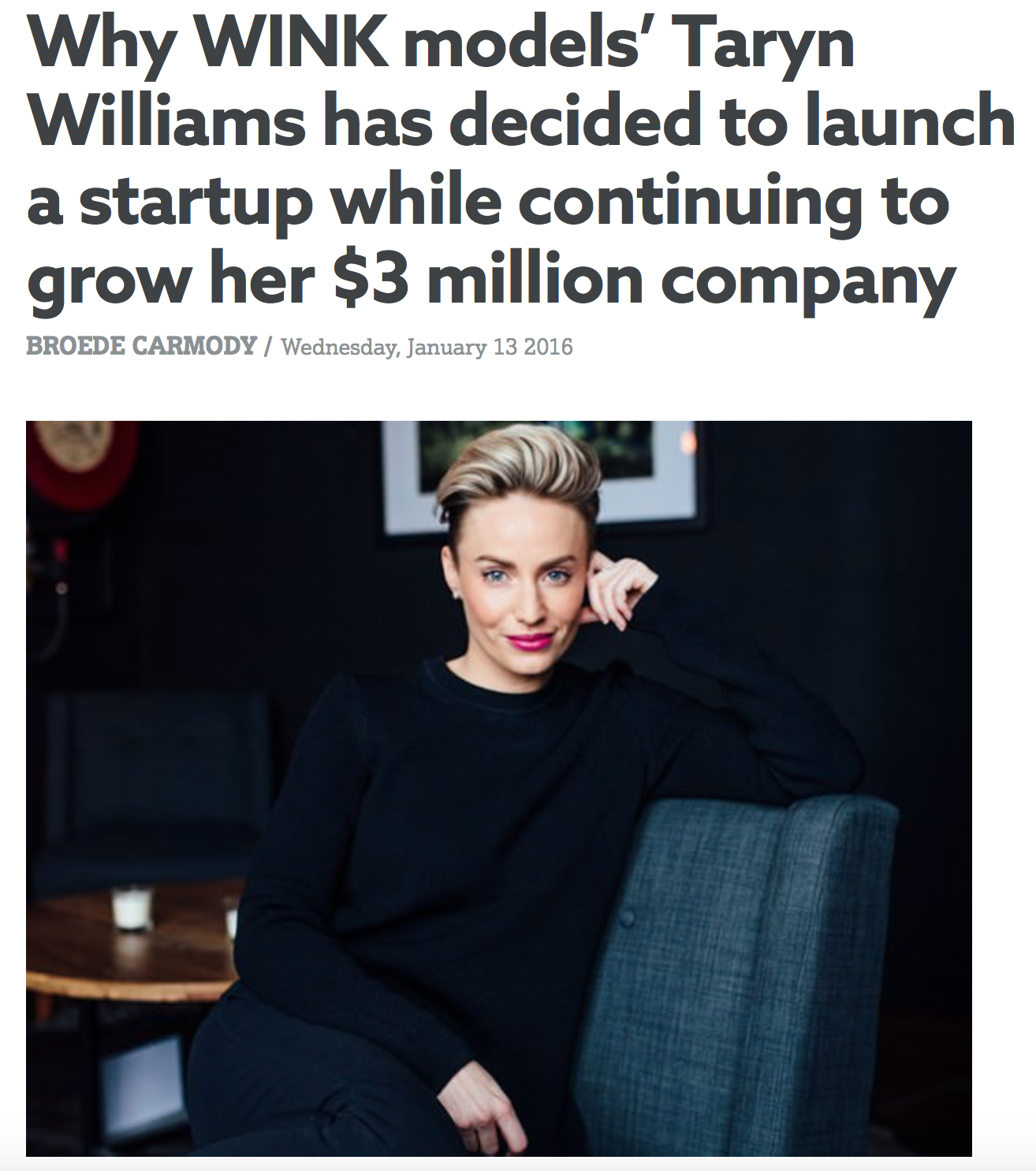http://www.smartcompany.com.au//growth/49499-why-this-entrepreneur-has-decided-to-launch-a-startup-while-continuing-to-grow-her-3-million-company/