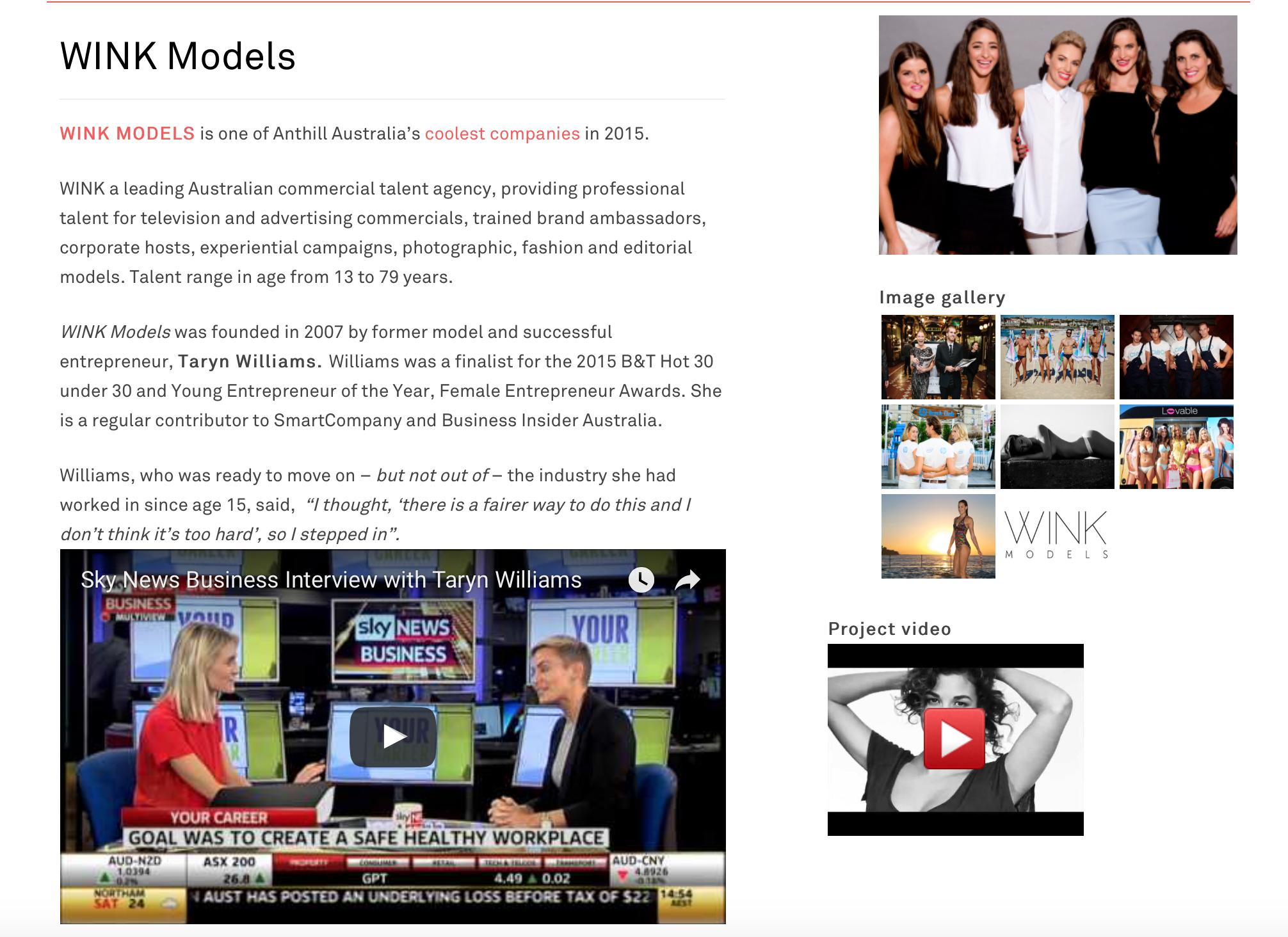 http://www.sammway.com.au/clients/wink-models/
