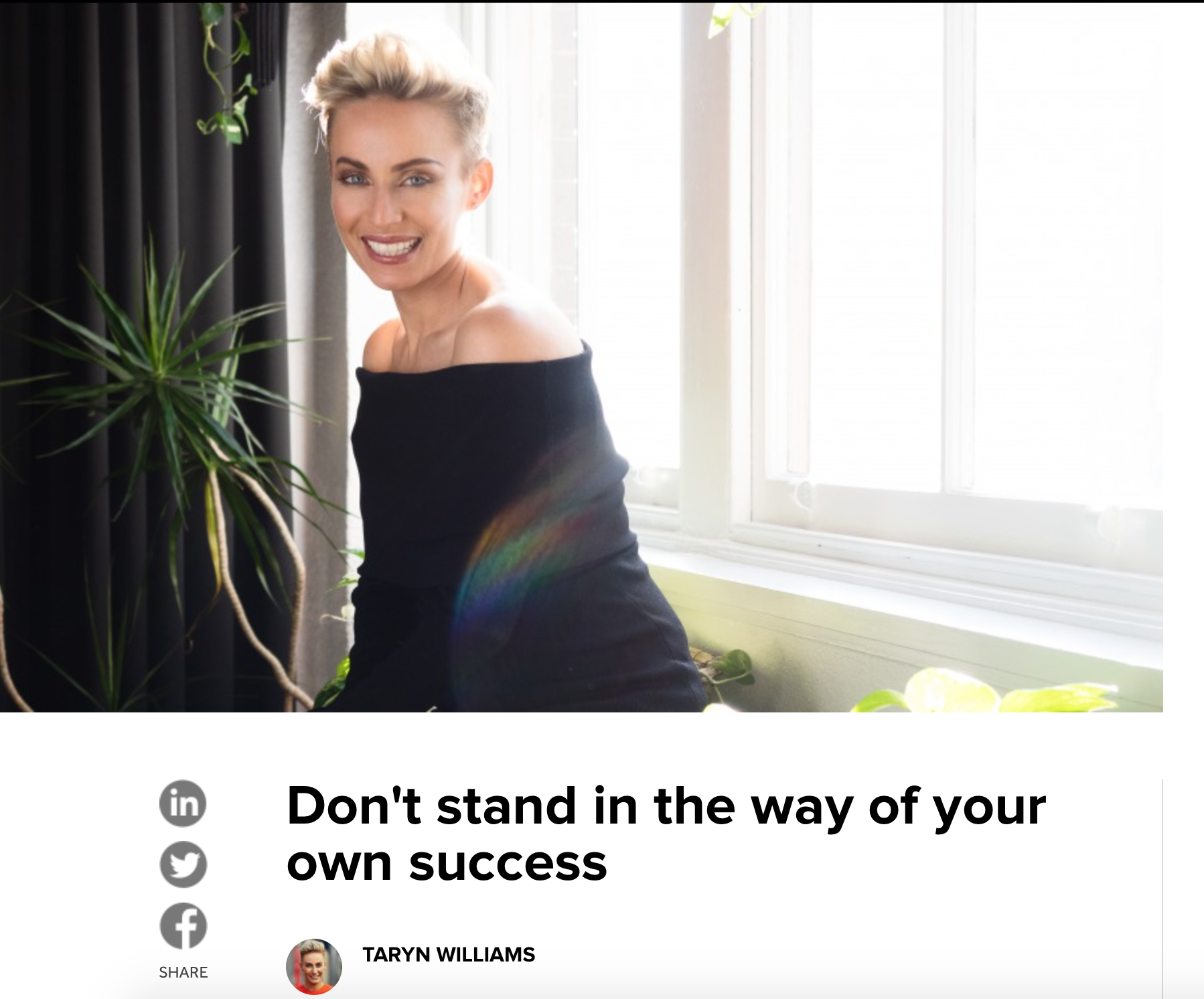 http://www.shortpress.com.au/dont-stand-in-the-way-of-your-own-success