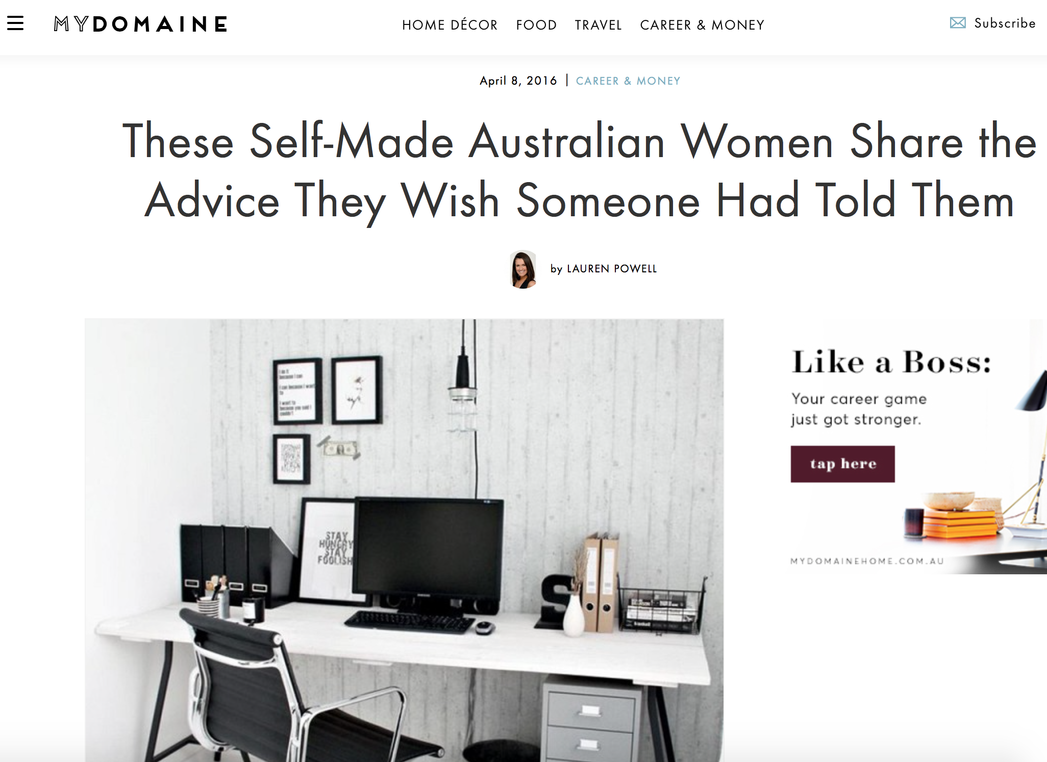 http://www.mydomainehome.com.au/entrepreneurs-advice-to-younger-selves