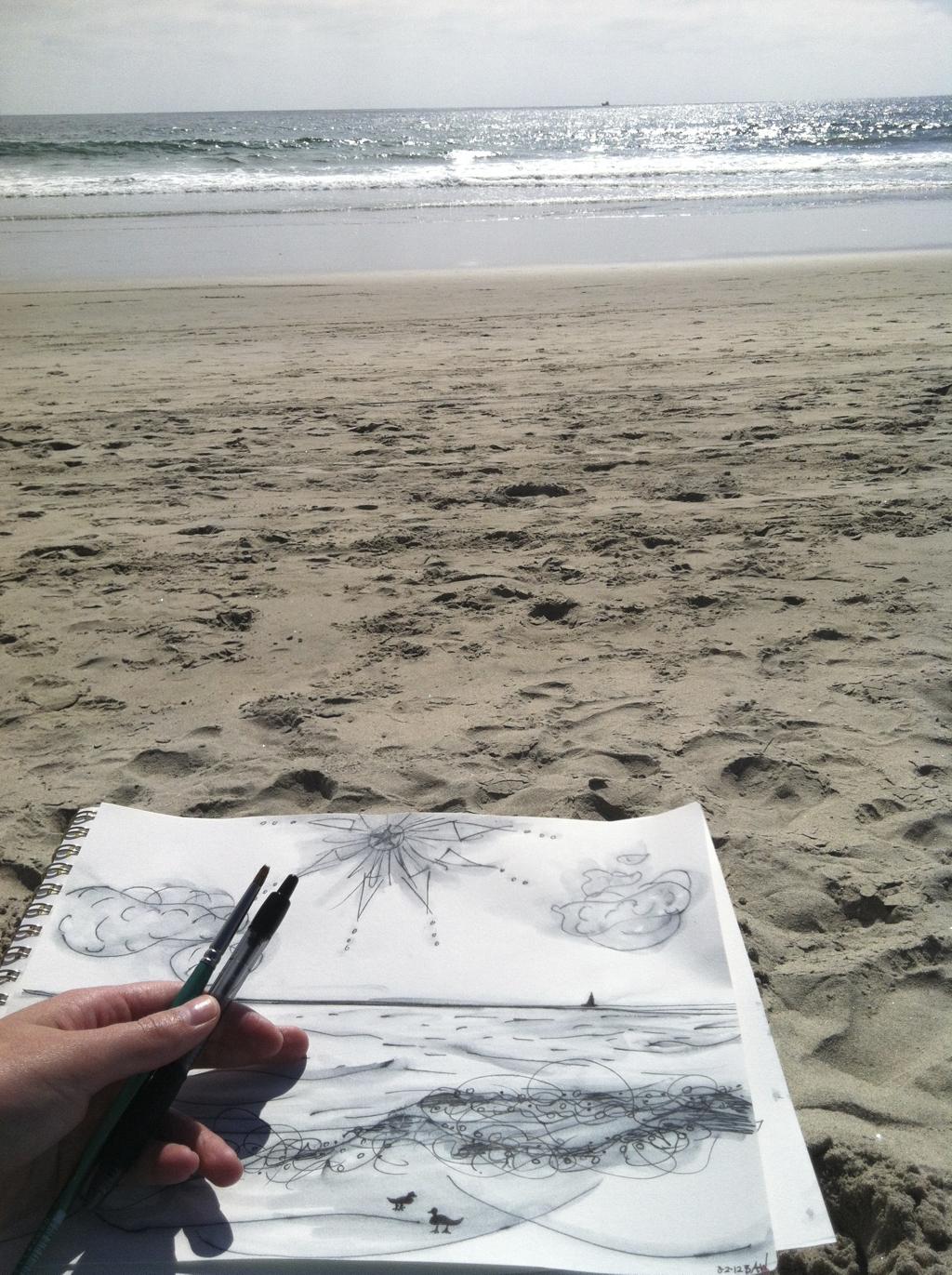 beachscene_BridgetWatts