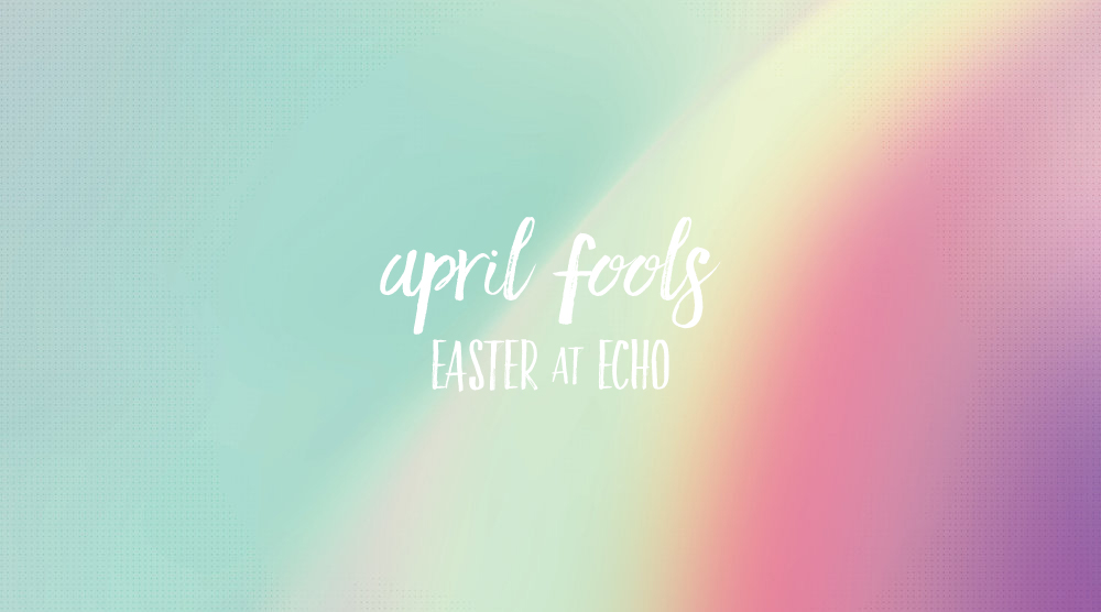 We'd love for you to join us for the most important date in the Christian calendar.  This year, Easter falls on April 1st—April Fools Day. While skeptics feel that the story of Jesus' resurrection is ludicrous, the Bible addresses the doubt. In our worship, we'll not only explore how Jesus defeated death, but why following his path isn't foolishness.    ABOUT OUR EASTER GATHERING    When? Sunday morning April 1st at 11:00   Where? 1301 East McMillan, Cincinnati, OH   What should I wear? Whatever makes you feel comfortable. Since it's Easter, some folk will be dressed up, but we invite you to come however you wish.   What about kids? We provide child care through kindergarten. For grade school and up, kids stay in the worship service. We provide an activity pack for kids who need to keep themselves busy.