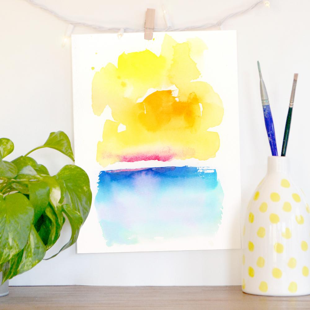 Shop original art and prints in my  Etsy studio store .
