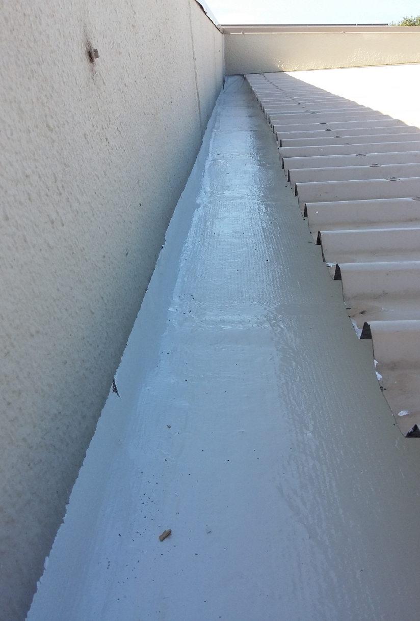 Waterproof roofing membrane
