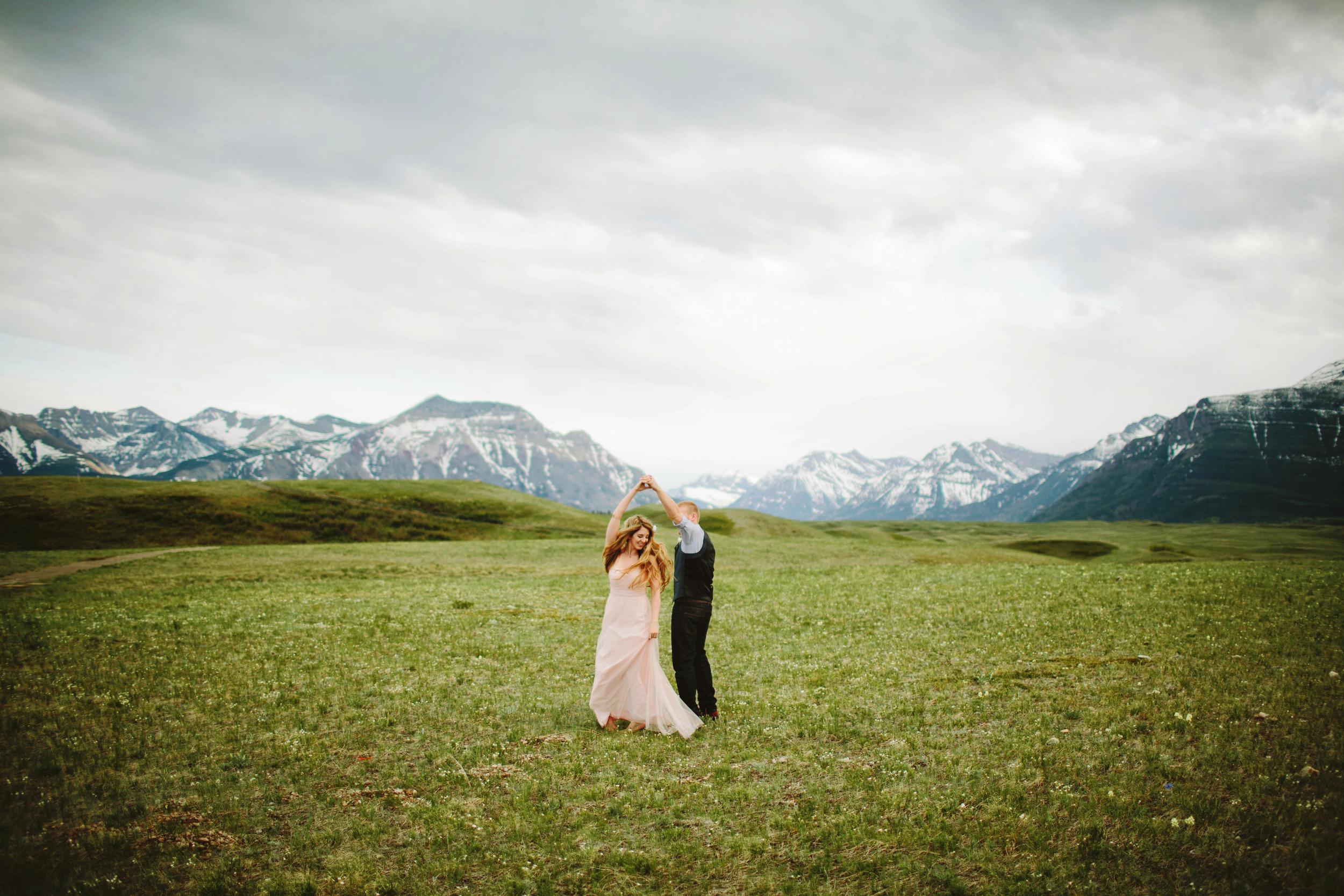Joanna + Darcy - Waterton, Alberta