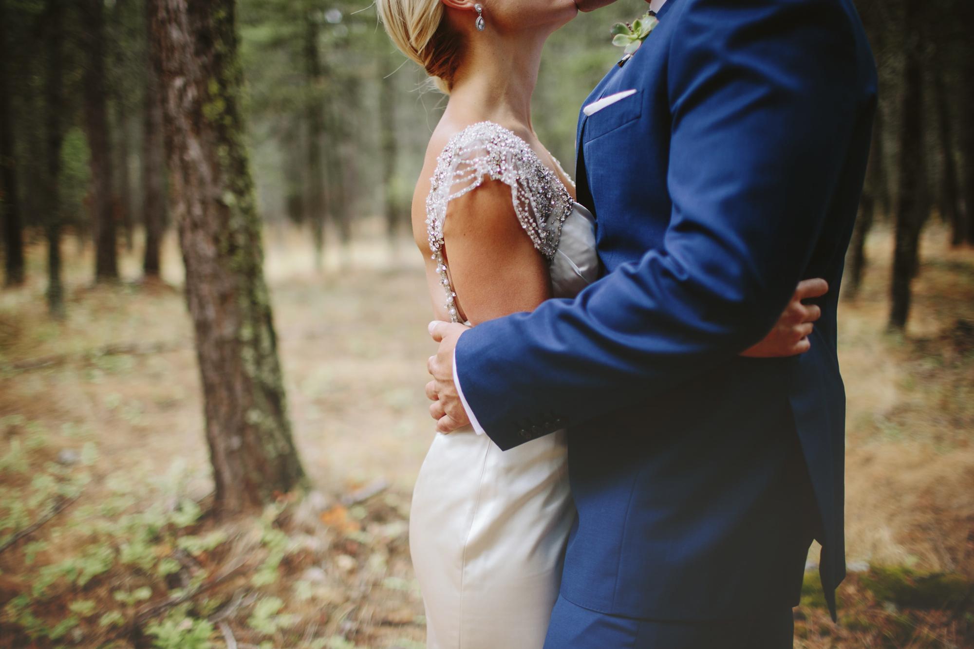 mountain wedding, lake wedding, alberta wedding photographer, vintage dress, forest portraits