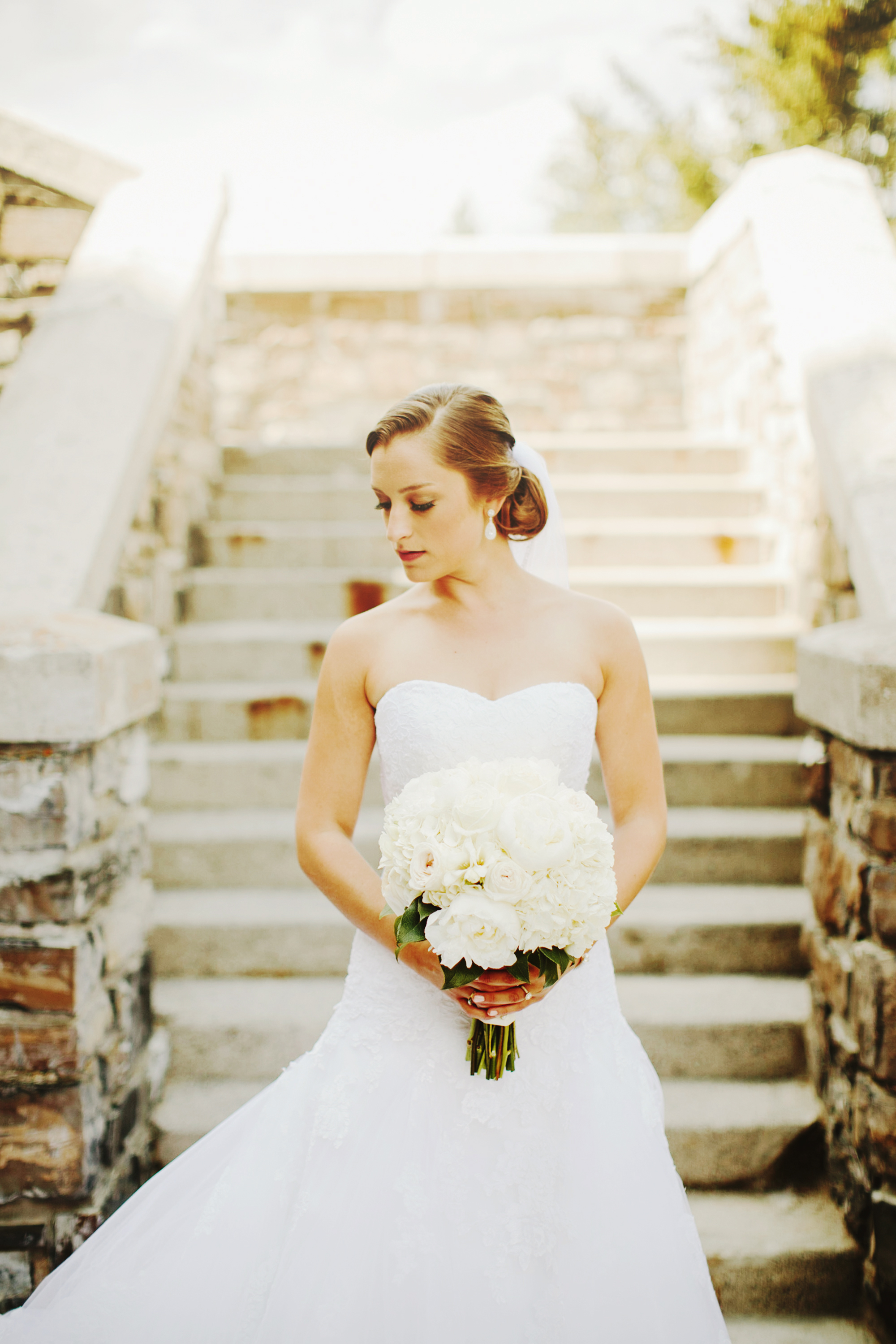 Fairmont Banff Springs Wedding, Bridal Portrait