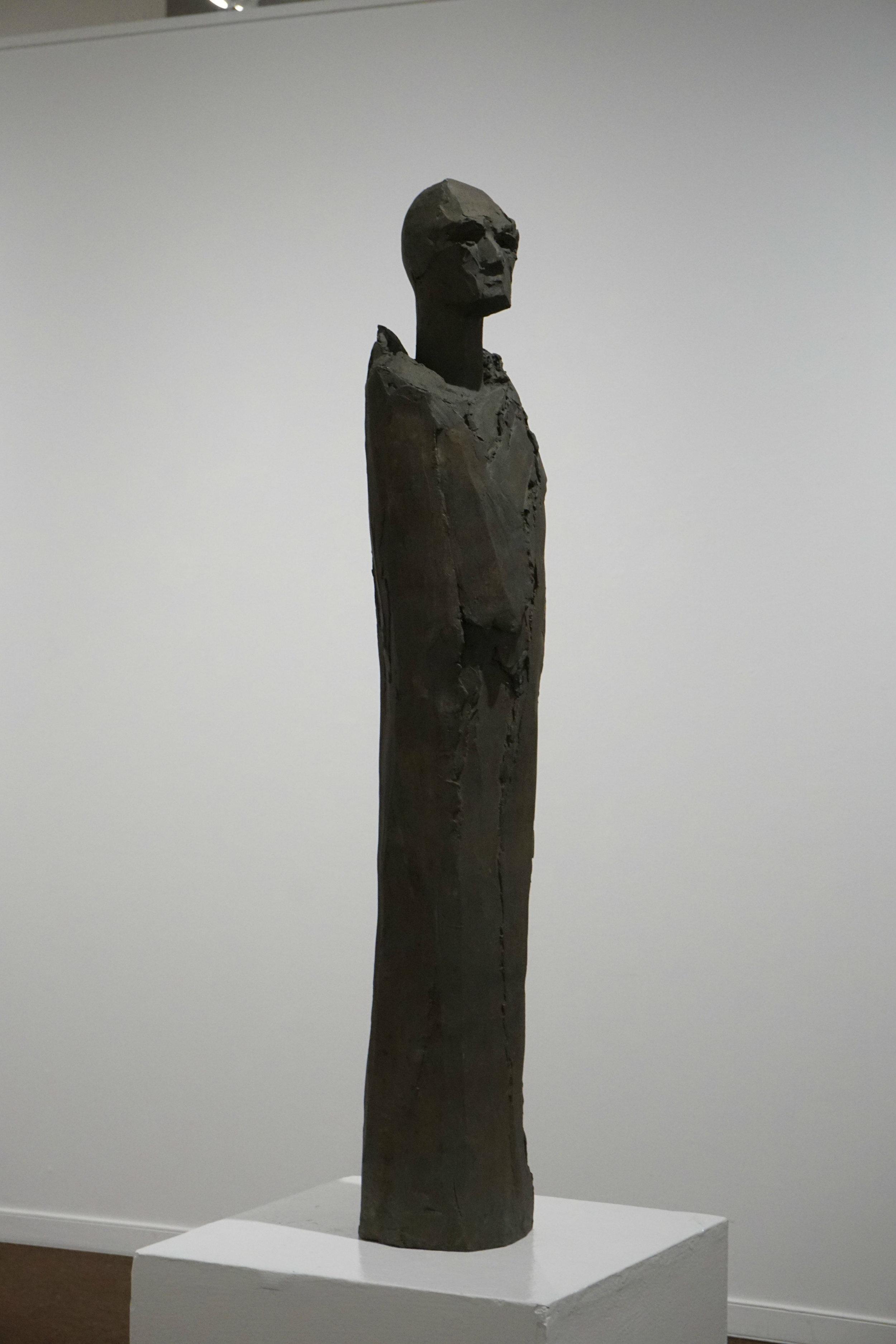 """The Keeper, (43"""" x 8"""" x 8"""", Bronze)"""